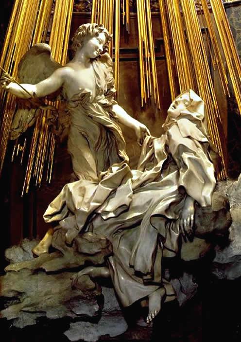 Скульптура Святой Терезы - Бернини