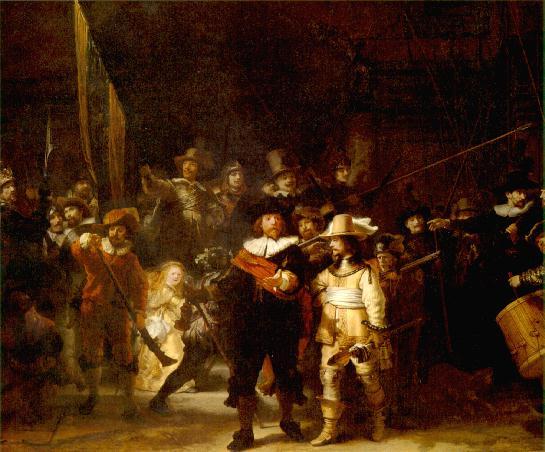 Ночной дозор Рембрандта (Рейксмузей. Rijksmuseum)