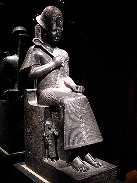 Сульптура фараона Рамзеса II