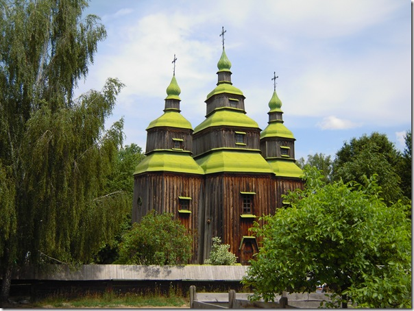 Церковь музея Пирогово
