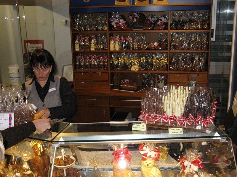 Цех по изготавливанию трюфелей и шоколадных фигурок