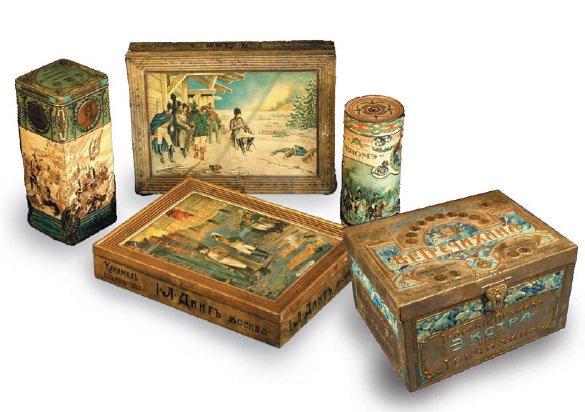 Образцы упаковки конца 19 – начало 20 века