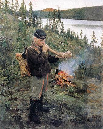 Произведение финского художника