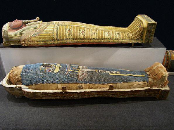 Статуя фараона Ментухотепа III