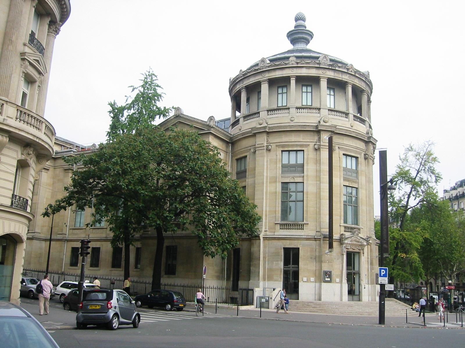 Музей восточных искусств Гиме в Париже