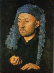 Портрет мужчины в синем тюрбане