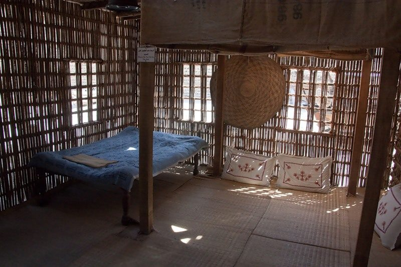 Летнее жилище бедуина
