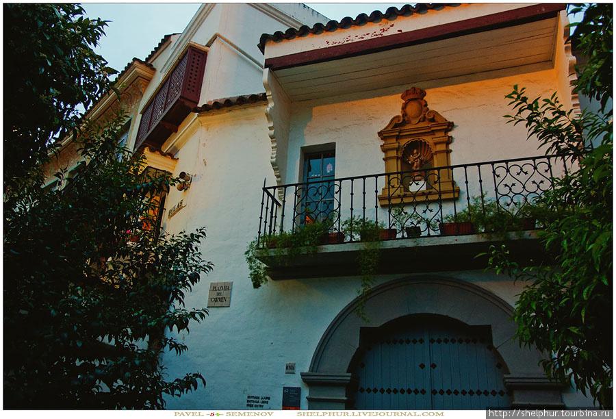 Музей  «Испанская деревня» в Барселоне