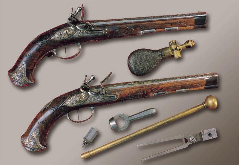 Коллекция стрелкового огнестрельного оружия