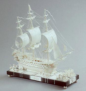 Модель фрегата Мюирон