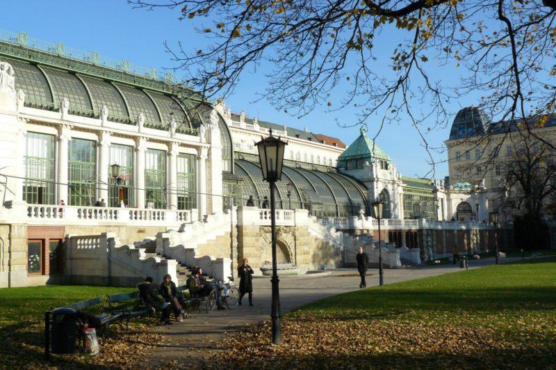 Музей бабочек в Вене