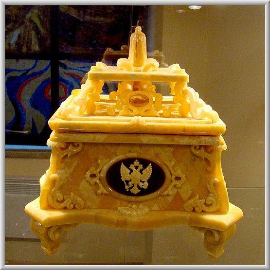Использование янтаря в творчестве