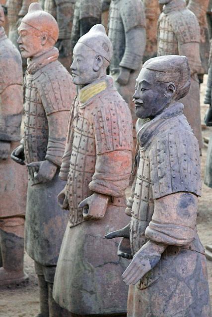 Музей Терракотовой армии Цинь в Китае