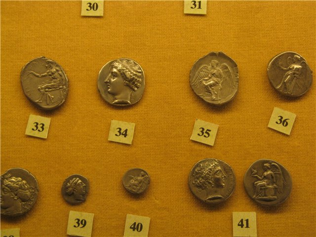 Античные монеты Греции и Рима