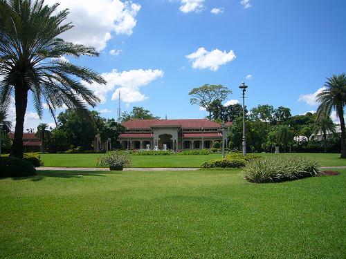 Сад дворца