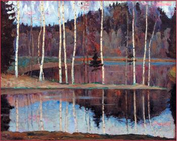 Картина раннего периода творчества М.В.Нестерова