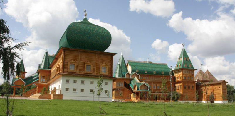 Макет дворца Алексея Романова