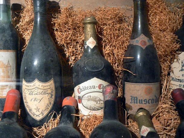 Коллекция вин начала 20 столетия
