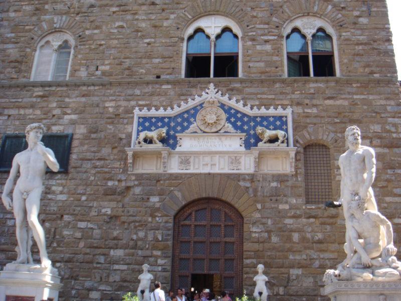 Вход в Палаццо Веккьо