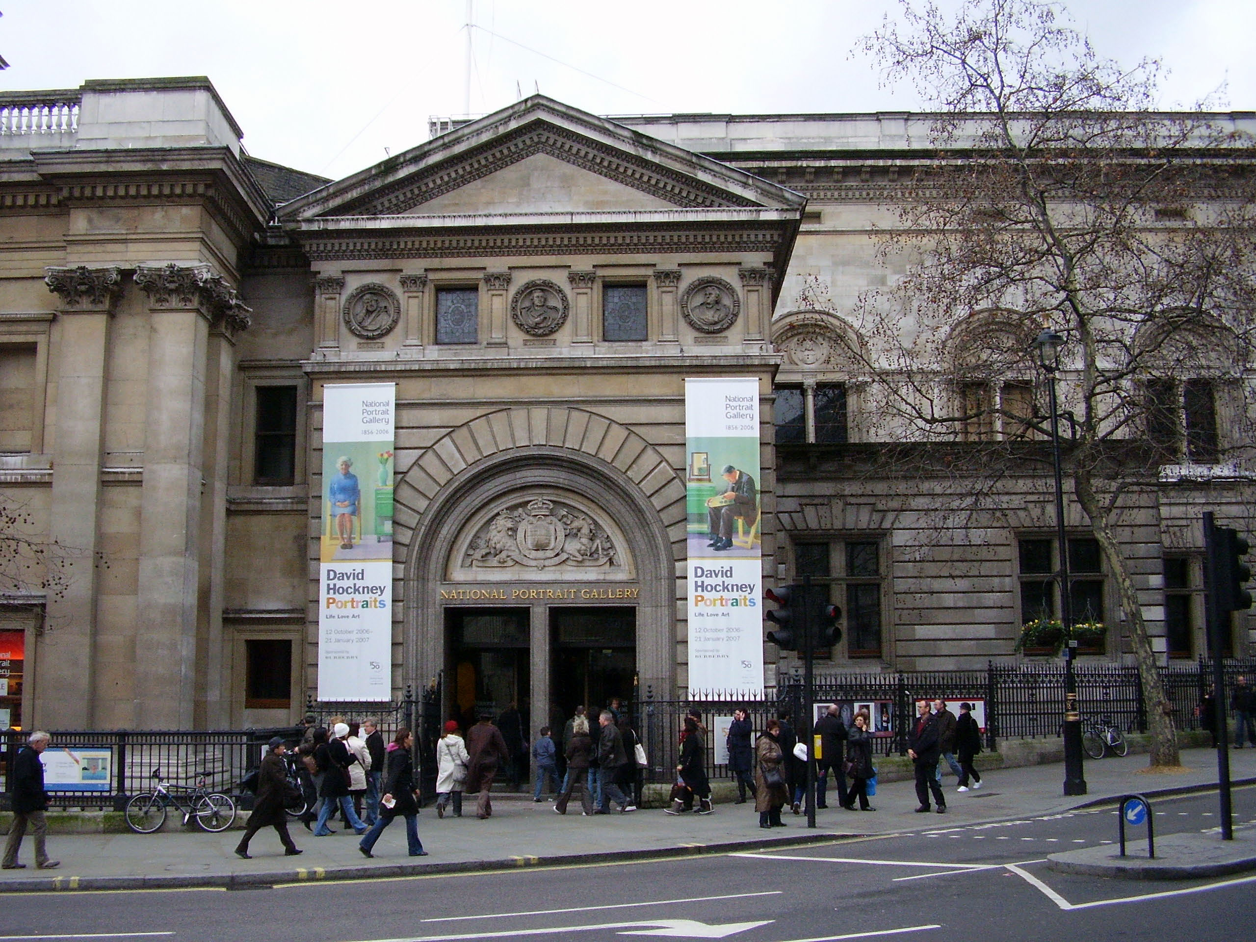 Национальная портретная галерея в Лондоне