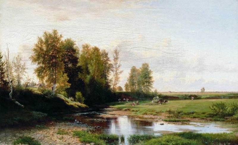 Экспонат отдела русского искусства