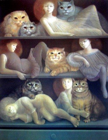 Картина «Воскресный полдень»