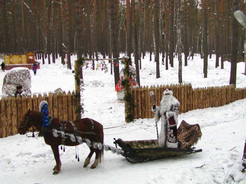 Резиденция кузбасского Деда Мороза