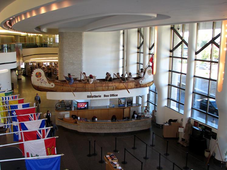 Зал освоения Канады