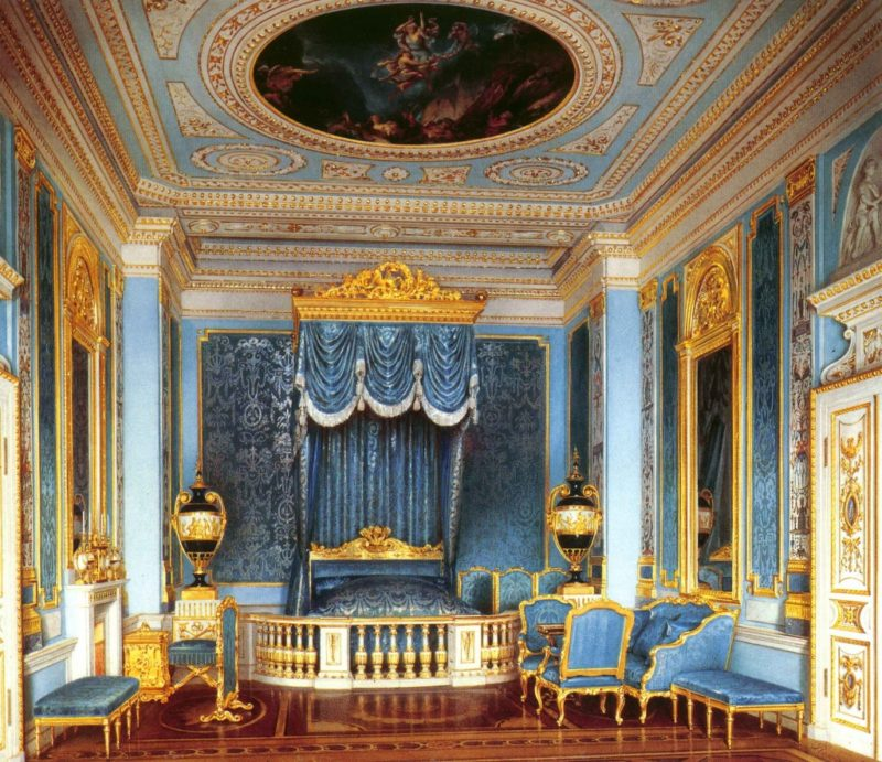 Спальня дворца