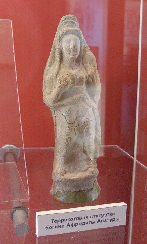 Терракотовая статуэтка