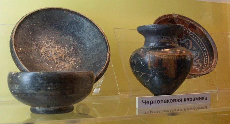Чернолаковая керамика