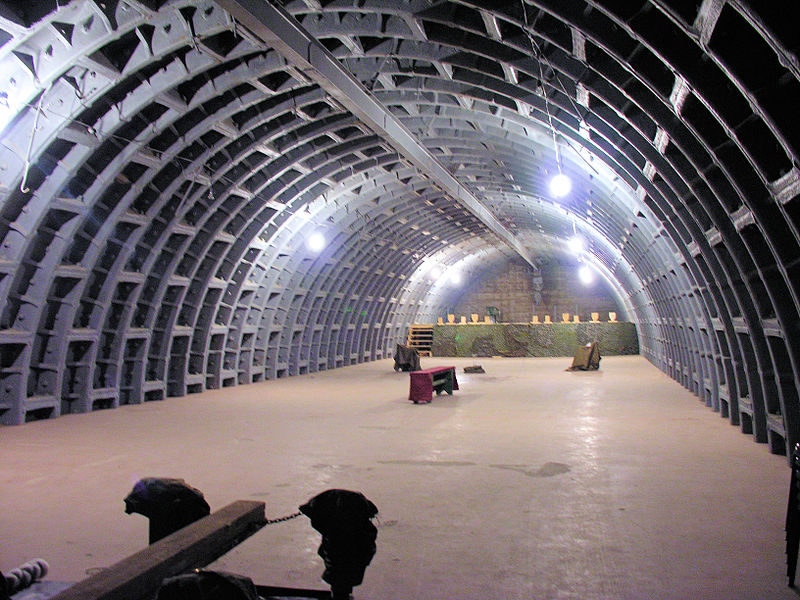 Зал бункера