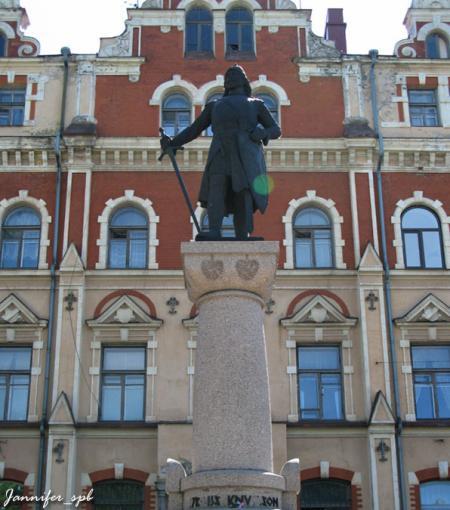Памятник маршалу Торгильсу Кнутссону
