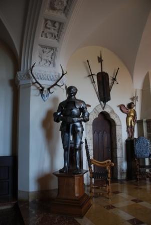 Оружейная коллекция замка