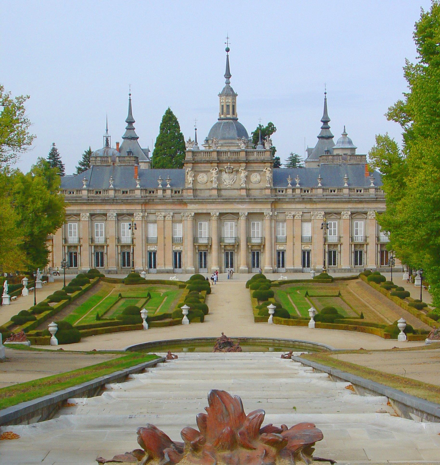 Королевский дворец-музей Ла-Гранха-де-Сан-Ильдефонсо