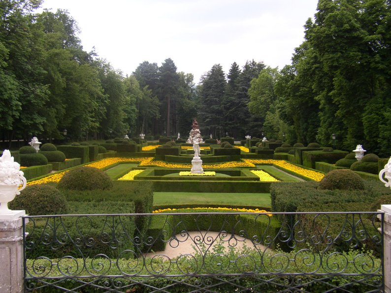 Сады дворца