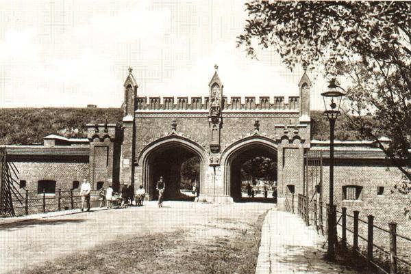 Фридландские ворота в 1862 году