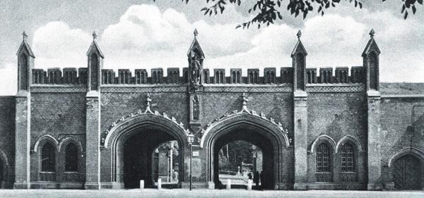 Фридландские ворота в 1910 году