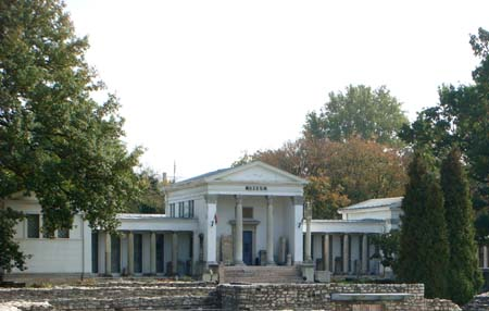 Музей Аквинкум в Венгрии