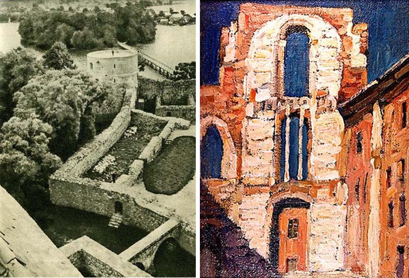 Руины замков