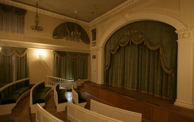 Зал домашнего театра Державина