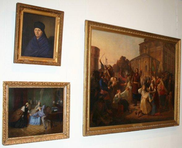 Картины музея