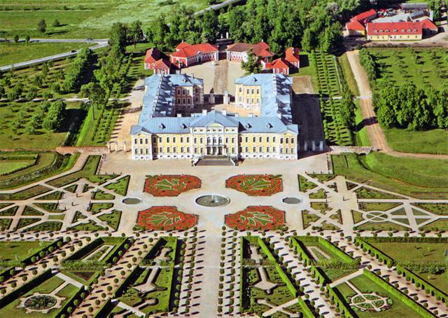 Рундальский дворец-музей