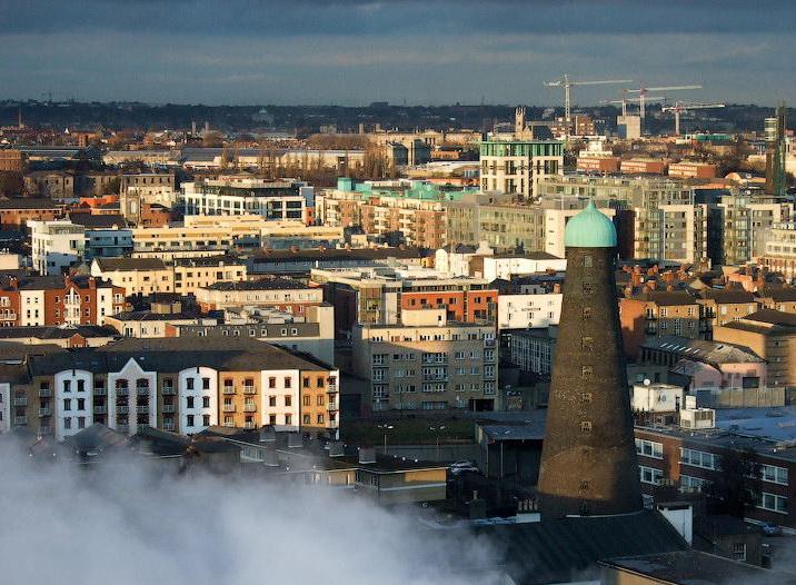 Вид на Дублин