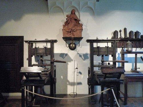Музей Плантена-Моретуса в Антверпене