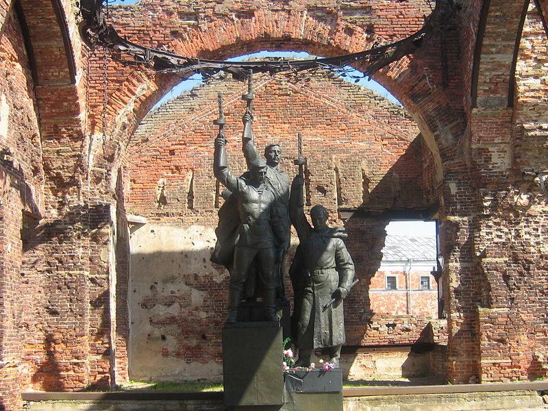 Мемориальный комплекс, посвященный памяти погибших воинов
