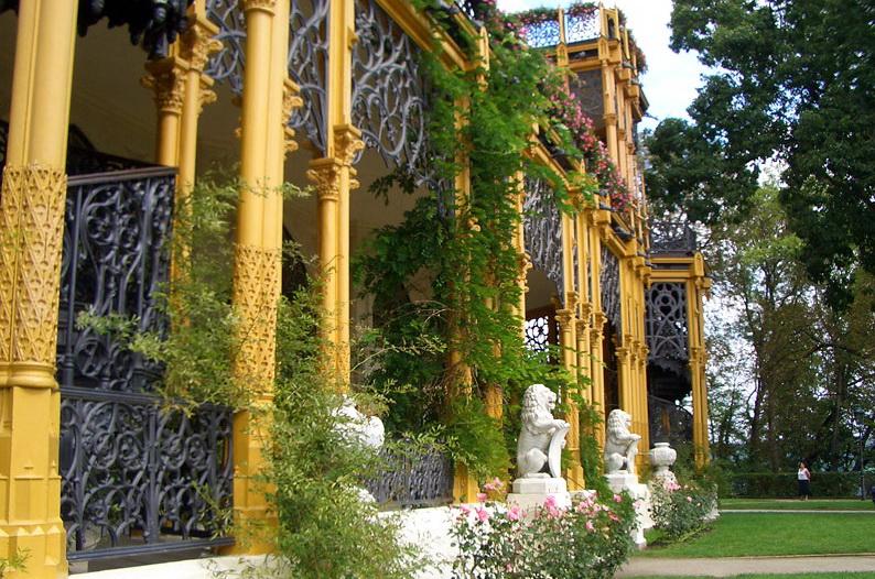 Сад замка