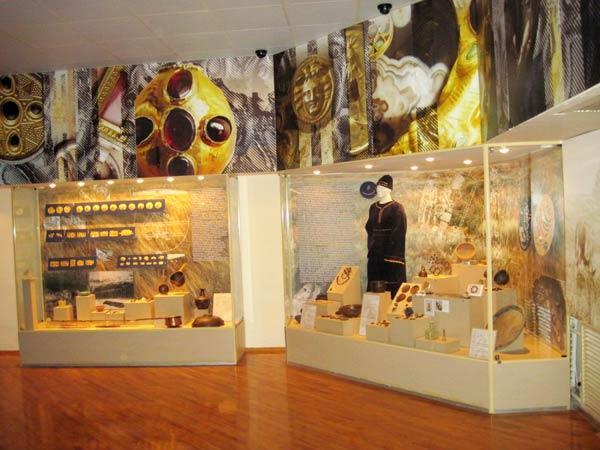 Экспозиция, посвященная сарматскому золоту