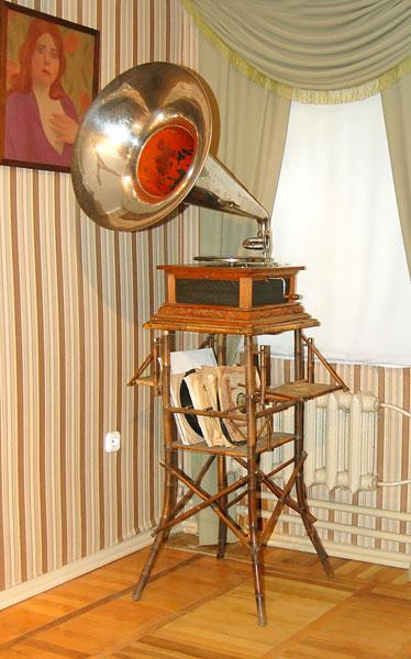 Граммофон 19 столетия
