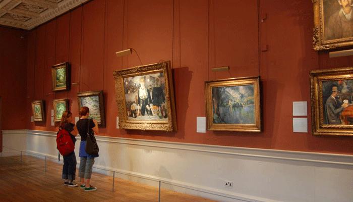 Зал галереи